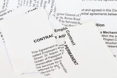 contract rivet arkivbilder