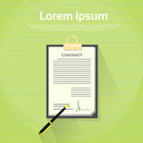 Contract Sign Up Paper Document Pen Signature Stock Photography