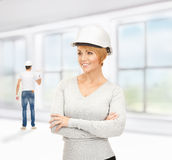 Contractor and builder Royalty Free Stock Photo