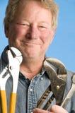 Contractor builder homeowner tools Stock Photo