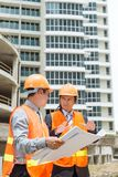 Contractor and investor Royalty Free Stock Photography