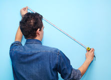 Contractor plasterer Royalty Free Stock Photos