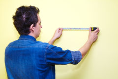 Contractor plasterer Stock Photography