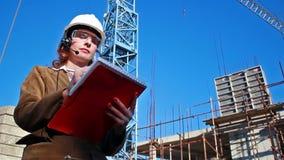 Contractor supervisor Stock Photos