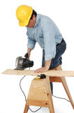 Contractor at work Royalty Free Stock Images