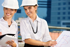 Contractors Stock Image