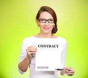 Contracts Stock Photos