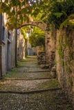 Contrade в Varrena, Италии Стоковое фото RF