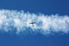 Contrail Royalty Free Stock Photos