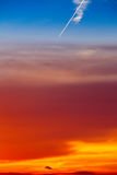 Contrail Stock Photography