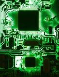 Contraluz de la placa de circuito Fotos de archivo