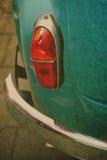 Contraluz y bumpor del coche del vintage imágenes de archivo libres de regalías