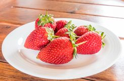 Imperfect strawberries Royalty Free Stock Photos