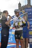 Contrassegni Cavendish dalla squadra del Highroad di HTC Immagini Stock