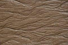 Contrassegni di acqua nella sabbia Fotografie Stock