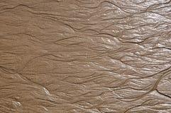Contrassegni di acqua nella sabbia Immagini Stock