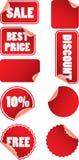 Contrassegni di prezzi Immagine Stock