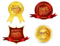 Contrassegni di qualità royalty illustrazione gratis