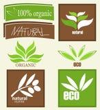Contrassegni organici Fotografia Stock