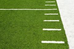 Contrassegni sul campo di football americano Immagine Stock Libera da Diritti