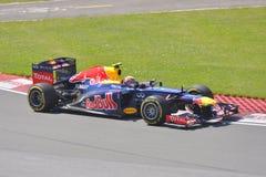 Contrassegni Webber in 2012 F1 grande Prix canadese Immagine Stock Libera da Diritti