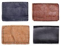 Contrassegno dei jeans Immagine Stock