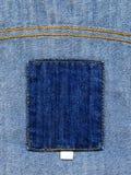 Contrassegno dei jeans Fotografie Stock Libere da Diritti