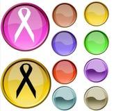 Contrassegno dei sussidi/HIV Fotografia Stock