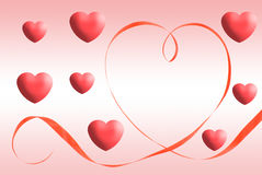 Contrassegno del cuore fotografia stock