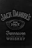 Contrassegno del Jack Daniel Fotografie Stock Libere da Diritti