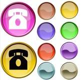 Contrassegno del telefono Fotografie Stock Libere da Diritti