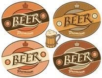 Contrassegno della birra illustrazione di stock