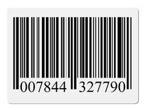 Contrassegno di codice a barre Immagini Stock Libere da Diritti