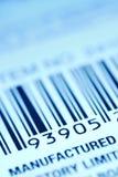 Contrassegno di codice a barre Fotografie Stock Libere da Diritti