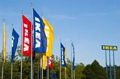 Contrassegno di Ikea Fotografia Stock Libera da Diritti