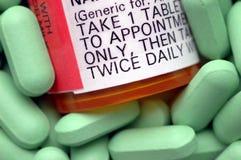 Contrassegno di prescrizione Fotografie Stock Libere da Diritti