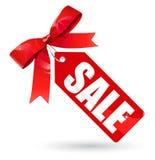 Contrassegno di vendita Fotografie Stock Libere da Diritti