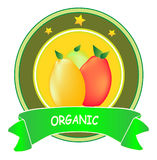 Contrassegno organico Fotografia Stock