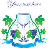 Contrassegno per vino royalty illustrazione gratis