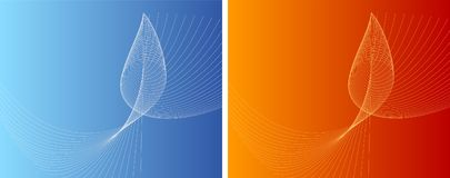 Contrast. A pair of website backgrounds/wallpapers. Visit my gallery for more backgrounds vector illustration