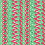 Contrast Aztec geometric pattern Stock Photo