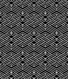 Contrast black and white symmetric seamless pattern  Stock Photo
