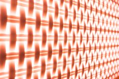 The contrast brown or red geometric pattern background or texture. stock photography