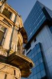 Contrast buildings Stock Photos
