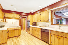 Contrast colors kitchen room Royalty Free Stock Photo