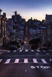 Contrast after dark San Fran Royalty Free Stock Photos