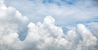 Contrast dramatic cloudy sky. The sky with thunder clouds stock images