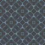 Contrast gegolfte van het lijnen naadloze patroon illustratie als achtergrond vector illustratie