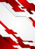 Contrast geometric tech corporate background Royalty Free Stock Photography