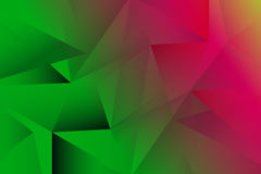 Contrast  green and pink abstract background Stock Photography